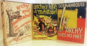 Three Archy books