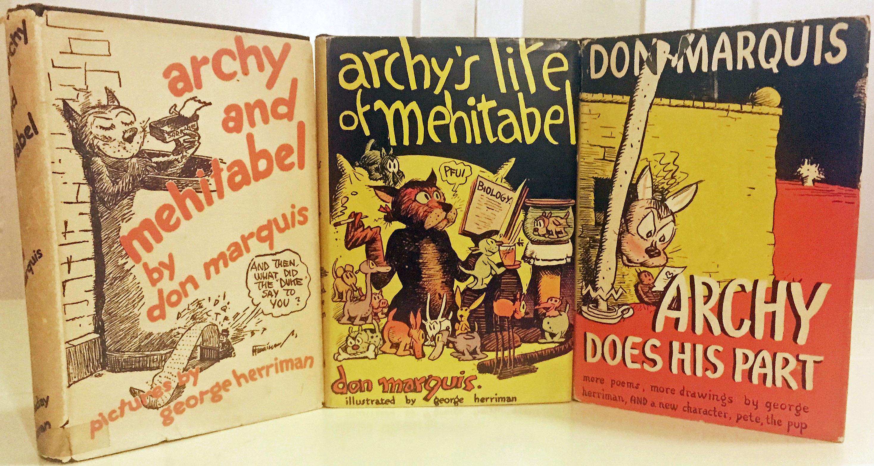 Three Archy Books