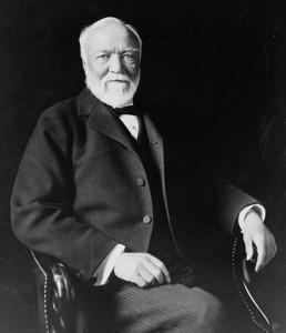 Andrew Carnegie in 1913.